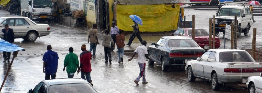 Downtown Iringa - Rain season