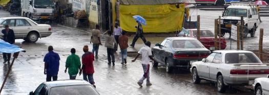 Downtown Iringa - Rain season